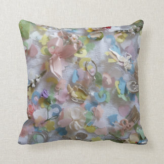 Vintage Collage Cushion