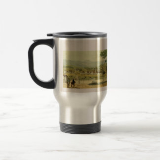 Vintage Colonial Jamaica Town of Montego Bay Travel Mug