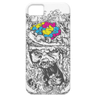 vintage color brains case for the iPhone 5