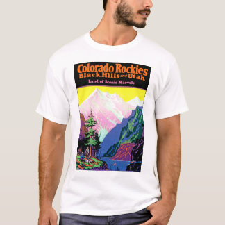 Vintage Colorado ~ Land of Scenic Marvels T-Shirt