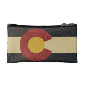 Vintage Colorado State Flag Makeup Bags