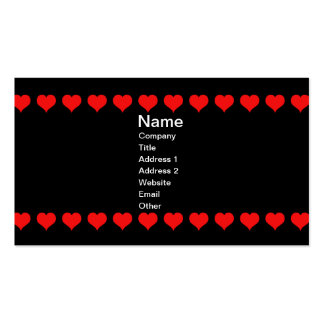 Vintage Colorful Ornate Queen of Hearts Business Cards