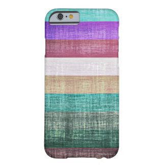 Vintage Colorful Stripes Pattern Barely There iPhone 6 Case