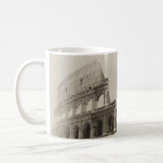 Vintage Colosseum - Rome of Gladiators Basic White Mug