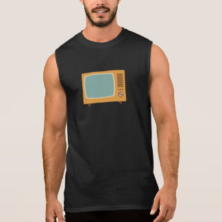 Vintage Colour Television Sleeveless Shirt