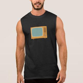 Vintage Colour Television Sleeveless Shirt