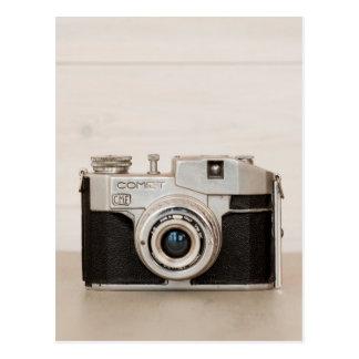 Vintage Comet camera Postcard