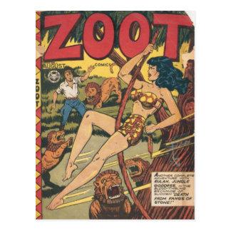 Vintage comic strips - postcards