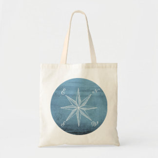 Vintage compass tote budget tote bag
