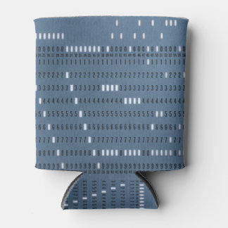 Vintage Computer Punched Card Can Cooler