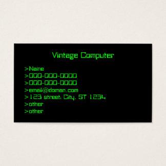 Vintage Computer Screen