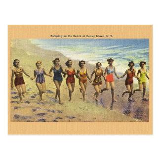 Vintage Coney Island Postcard