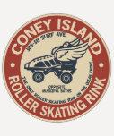 Vintage Coney Island Roller Rink Shirts
