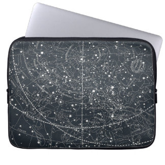 Vintage Constellation Map Computer Sleeve