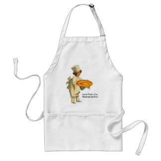 Vintage Cook with Pie Apron