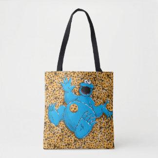 Vintage Cookie Monster and Cookies Tote Bag