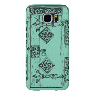 Vintage cool door Samsung6 case template