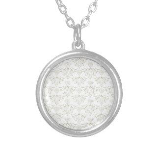 Vintage Cool Round Pendant Necklace