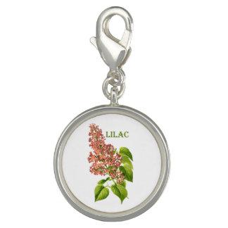 Vintage Coral Lilac Spring Garden Flower
