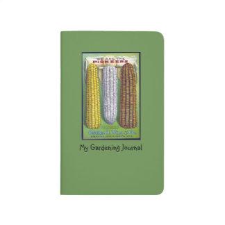 Vintage Corn Seed Packet Pocket Journal