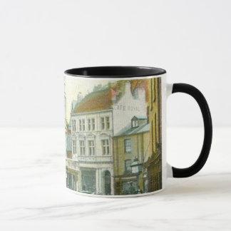 Vintage Cornish buildings mug