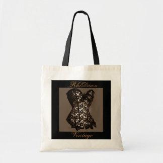 Vintage Corset Shopping Bag