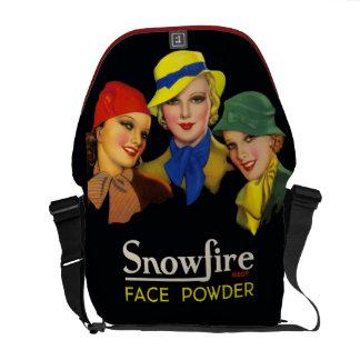 Vintage Cosmetics Retro Fashion Models Courier Bags