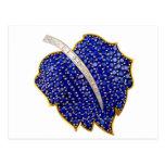 Vintage Costume Jewellery Rhinestones Diamonds Postcards