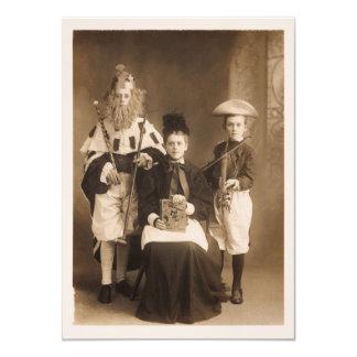 Vintage Costume Party Invitation