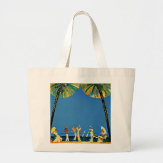 Vintage Cote D Azur French Travel Bags