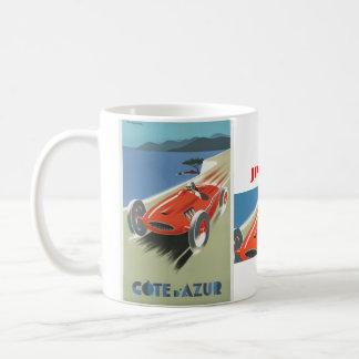 Vintage Cote d Azur Race Coffee Mug