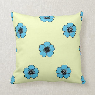 Vintage-Country-Cotton-Morning Glory*_Floral-Med Cushion