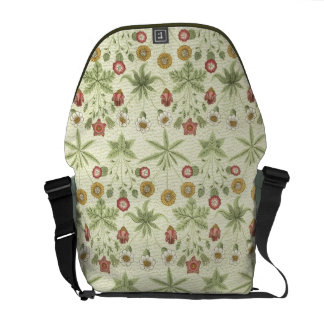 Vintage Country Floral Pattern Messenger Bags