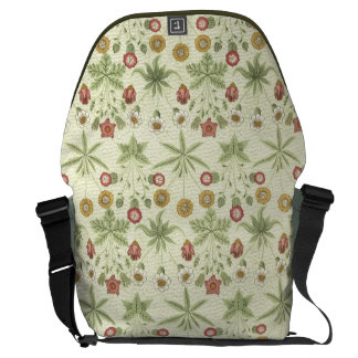 Vintage Country Floral Pattern Courier Bags