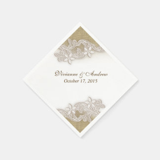 Vintage Country Gala Disposable Serviette