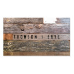 Vintage Country Nature Rustic Reclaimed Wood Pack Of Standard Business Cards