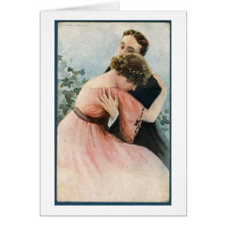 Vintage Couple - Break Ups Bring Heartache, Card