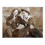 Vintage Cowboys 15 Postcard