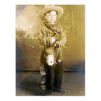 Vintage Cowboys 18 Postcard