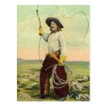 Vintage Cowboys 22 Postcard