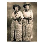Vintage Cowboys 24 Postcard