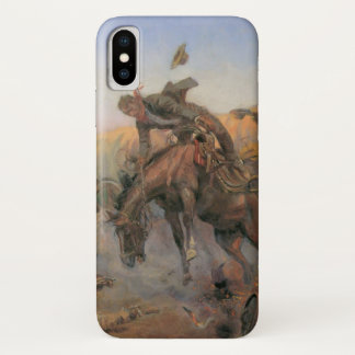 Vintage Cowboys, Camp Cook's Trouble by CM Russell iPhone X Case