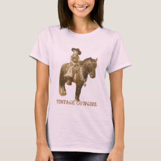VINTAGE COWGIRL LADIES TOP