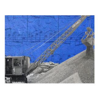 Vintage Crane Operator Northwest Crane Postcard