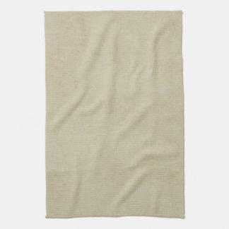 Vintage Cream Avocado Paper Parchment Background Tea Towel