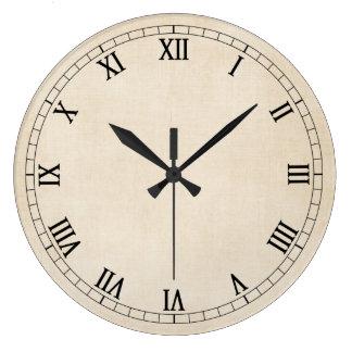 Vintage Cream Wall Clock