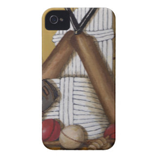 Vintage Cricket iPhone 4 Case