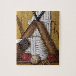 Vintage Cricket Jigsaw Puzzle