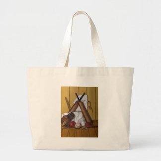 Vintage Cricket Jumbo Tote Bag