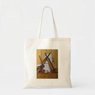Vintage Cricket Tote Bag